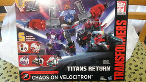 NEW sealed Transformers VELOCITRON , Mecha Nations , Prime, etc