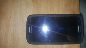 Samsung S4 with screen protector and Otter Box