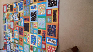 Boy's single bed quilt