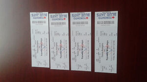 Blue Jays tickets x4