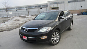 2008 Mazda CX-9, AWD,7 Pass, leather roof, 3/Y warranty availab.