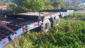 24 feet long by 8 foot 4 inch heavy dump truck trailer