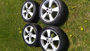 205/50/R17 ALL SEASON TIRES AND RIMS (set of 4)