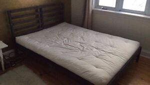 Double Bed and Futon
