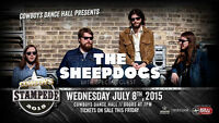 UP TO 5 TICKETS FOR SHEEPDOGS AT COWBOYS WED JULY 8TH 7:00