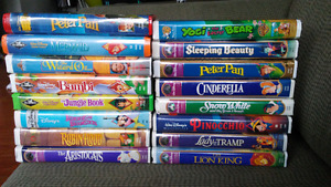 Walt Disney VHS Collection