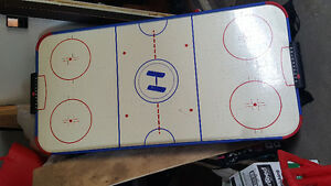 Air Hockey table- needs hockey discs and paddles