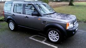 2007 LHD Land Rover Discovery 3 2.7TD V6 2007MY HSE, CAMPER, LEFT HAND DRIVE
