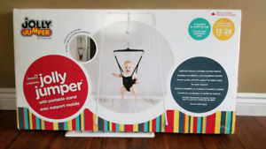 Jolly Jumper baby exerciser with portable stand