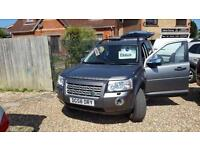 Land Rover Freelander 2 2.2Td4 auto 2008 SE 4X4 2 owners FSH LOW MILES 79K fsh