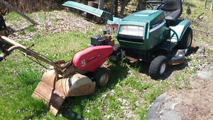 Lawnmower and Rototiller for sale!!!