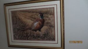 On The Edge By Gail Adams Limited Edition Print ap 8/70