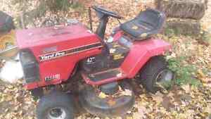 Working Lawn Tractor