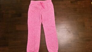 Size 5/6 Girls Pink Fleece-Lined Pants, Children's Place