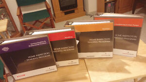 Home Inspection Training Program Books