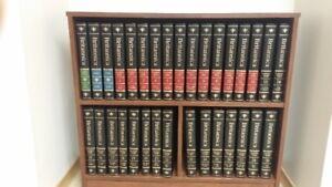 Encyclopedia Britannica 15th Edition with bookcase