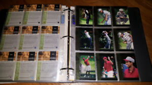 Extensive Golf Card Collection