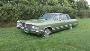 Restored 1968 Chrysler Crown Imperial