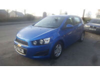 2012 Chevrolet Aveo 1.3 LT VCDi Turbo Diesel * New Shape * 1 Private Owner * FSH