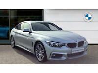 2019 BMW 4 Series 420d [190] M Sport 5dr Auto [Professional Media] Diesel Hatchb