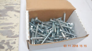 CARRIAGE BOLTS, LAG BOLTS