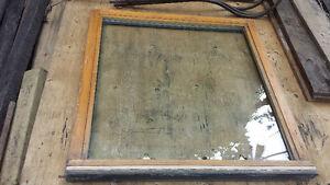 fenetres thermos int. bois et ext.aluminium de bonne qualite