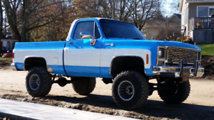 1979 chevy short box ls swapped