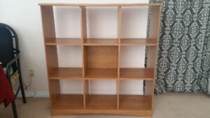Multiple use shelving unit from IKEA