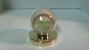 MOSEBY AND WHITT SIGNED BALL ** BLUE JAYS **