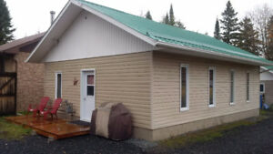 3 bedroom cabin for rent - 5 min. from Iroquois Falls