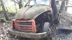 Old truck for parts