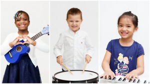 Music Lessons Mississauga - Piano, Guitar, Vocal, Drums, Violin