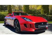 2013 Jaguar F-TYPE 3.0 Supercharged V6 S 2dr Automatic Petrol Convertible