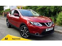 2017 Nissan Qashqai 1.6 dCi Tekna (Glass Roof Pack Automatic Diesel Estate