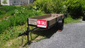 Utility Trailer Reduced Price