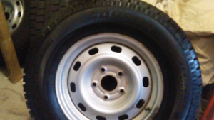 Dodge ram snow tires on rims