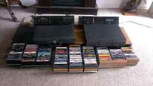 Rock Collection With Two Tape Decks