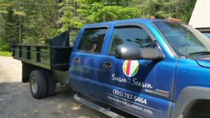 2003 3500 Diesel Truck with Dump Box