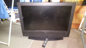 Olevia 37 inch LED TV with remote