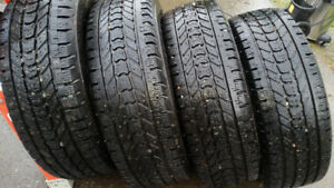 LT275/70R18 Studded Winter Tires
