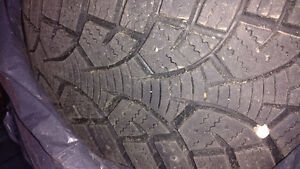 Winter Tires 195/60R15 comes with rims Kitchener / Waterloo Kitchener Area image 2