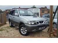 Nissan Terrano II 2.7TD 2001 Sport immaculate low miles only 79k 7 seater 4x4
