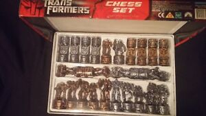 Lord of the Rings Chess set and Transformers Chess set Edmonton Edmonton Area image 2