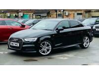 2018 Audi A3 1.5 TFSI CoD S line (s/s) 4dr Saloon Petrol Manual