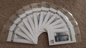 (SALE) 12x Brand new iPhone 5 5s screen protector film clear
