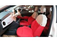 2013 FIAT 500 1.2 Lounge [Start Stop] Pan Roof BlueandMe Bluetooth