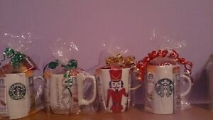 STARBUCK GIFT MUGS FOR GIFTS OR DOOR PRIZES London Ontario image 1