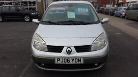 2006 RENAULT MEGANE SCENIC 1.6 VVT Dynamique From GBP2,995 + Retail Package