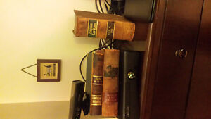 Old Vintage 100 + years old Law & Chemistry Books
