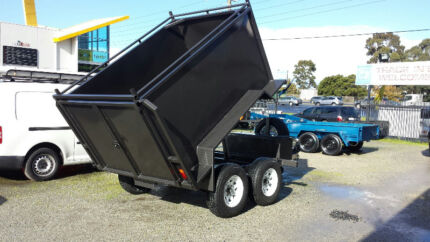 8x5 BOX TIPPER WITH RAMPS - 3 TONNE Narre Warren Casey Area Preview